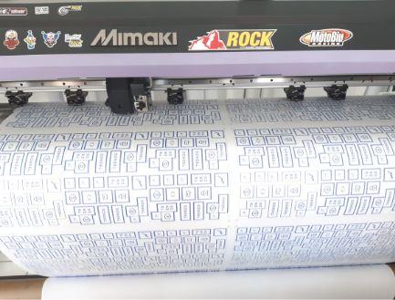 impressão digital máquina
