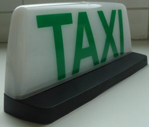 Adesivo de Taxi